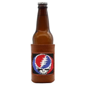 Steal Your Face Needlepoint Bottle Cooler by Smathers & Branson