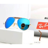 RayBan Tide brand personality for men and women large frame polarized driving color film sunglasses #6