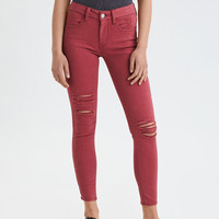 AE Ne(X)t Level Jegging Crop, Cherry