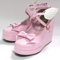 Angel Shoes (S) - Pink [162SH09-190009-pkS] - $127.00 : Angelic Pretty USA