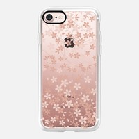 Pink Blossoms iPhone 7 Case by Allison Reich | Casetify
