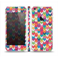 The Color Knitted Skin Set for the Apple iPhone 5