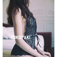 SALE - 15% off for any 3 items, lace teddy, floral bodysuit, one piece - Fantasy