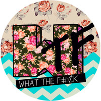 Sara Eshak's WTF MTV Circle Decal