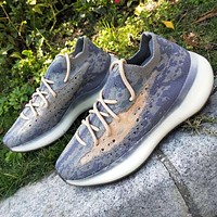 """Adidas Yeezy Boost 380 V3 """"Alien"""" FV3260 Stone texture Purple Joint Limited Coconut Shoes"""