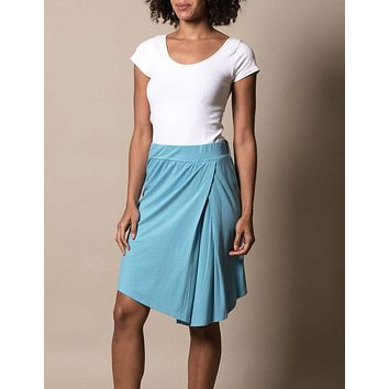 Bamboo Zelda Skirt - Blue Crush