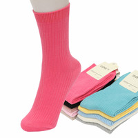 New 2016 Candy Colors Woman Socks Winter Cotton Socks Women Sprout Fashion Brand Socks Female 2pairs/lot
