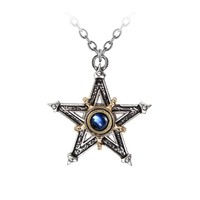 Alchemy Gothic Medieval Pentangle Pendant Necklace