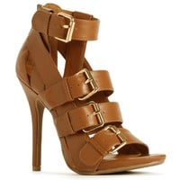 Strappy Pump With Buckles