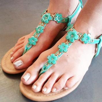 CHASING WILD FLOWERS SANDALS