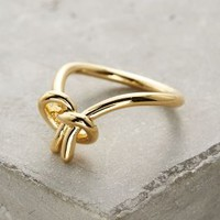 Gold Philosophy Mariner Ring in Gold Size: