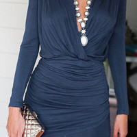 Cupshe Deep End Plunging Dress
