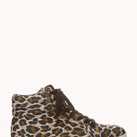 Street-Chic Leopard High Tops