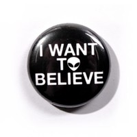 Disturbia Clothing - Believe Pin Badge