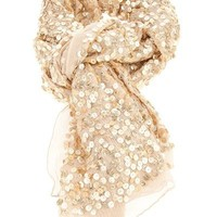 Rose And Rose Sequin Scarf - Start - farfetch.com