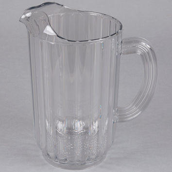 Rubbermaid 3339 72 Oz Clear Pitcher Bouncer