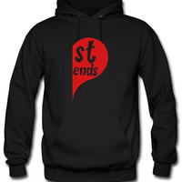 best friends left d Hoodie
