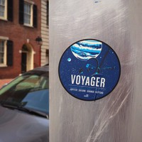 Voyager Sticker from the Historic Robotic Spacecraft Series