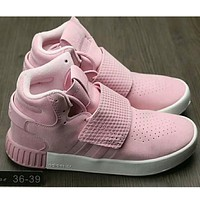 Adidas Originals Tubular Invader Strap Women Men Running Sport Casual Shoes Sneakers Pink I-HAOXIE-ADXJ