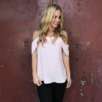 Belle Of The Ball Pink Blouse