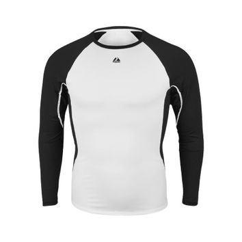 Majestic Athletic Premier Warrior Adult Fitted Long Sleeve Shirt