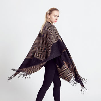 Winter Cashmere Double Sided Scarf [9572824911]