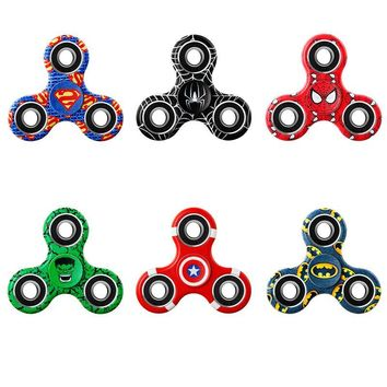FREE Marvel Comic Super Heroes Fidget Spinners