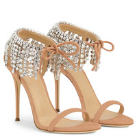 Carrie Crystal - Sandals - Pink | Giuseppe Zanotti - US
