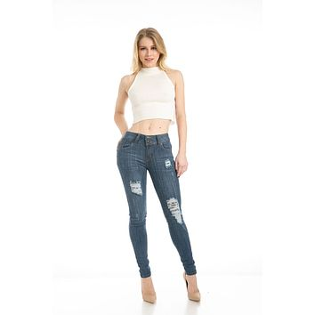 Sweet Look Premium Edition Women's Jeans - Skinny - Style CH075-R