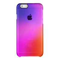 Bright Purple Pink And Orange Abstract Glow Uncommon Clearly™ Deflector iPhone 6 Case