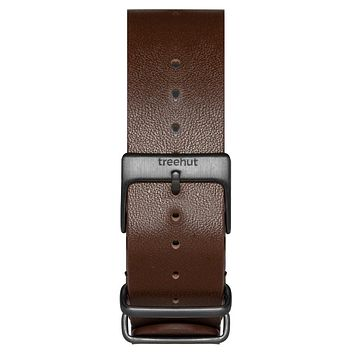 20mm Brown NATO Leather band