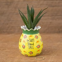 Pineapple Faux Succulent