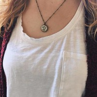 Dainty Botanical Necklace