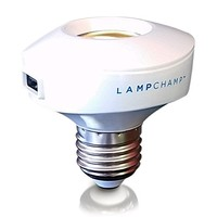 LampChamp - The USB Light Socket Charger & Lamp Adapter for Cell Phones / Tablets / eReaders / Security Cameras / Anything USB