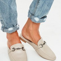 Missguided - Nude Slip On Mules