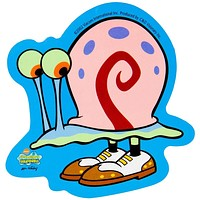 Spongebob - Gary With Shoes Decal