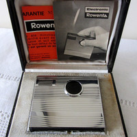 Rare Vintage Rowenta Chrome Table Lighter 1960's