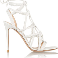 Gianvito Rossi - Braided leather sandals