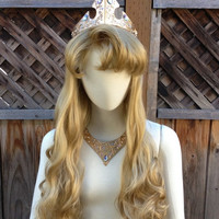 2013 Style Sleeping Beauty Princess Wig Screen Quality Custom Couture Styled