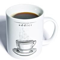 Gift Republic Coffee Addict Mug White One