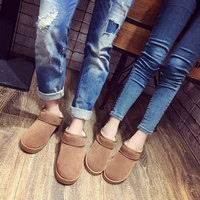 On Sale Hot Deal Plus Size Casual Cotton Boots [9257120012]