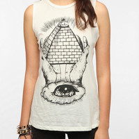Urban Outfitters - Corner Shop All Seeing Eye Muscle Tee