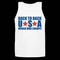 Back to Back USA World War Champs Tank