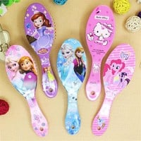 Cartoon frozen child air cushion comb lovely Curly Hair Brush Combs Gentle Anti-static Brush Tangle Wet & Dry Bristles