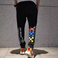 Wholsale women or men OFF-White Sweatpants 501965868-013