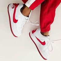 Nike Air Force 1 Jester XX White Womens Leisure board shoes-2