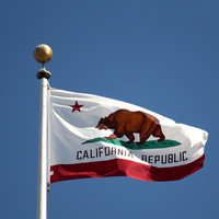 New 3*5 Feet California State Flag United States Flag Banner Outdoor Indoor Home Decor