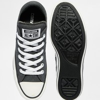 Converse Knit Grey Chuck Taylor All Star Low Trainers