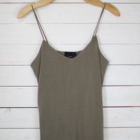 Washed Jersey Tank Top