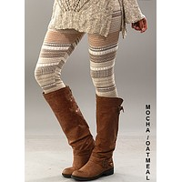 Knit Sweater Legging